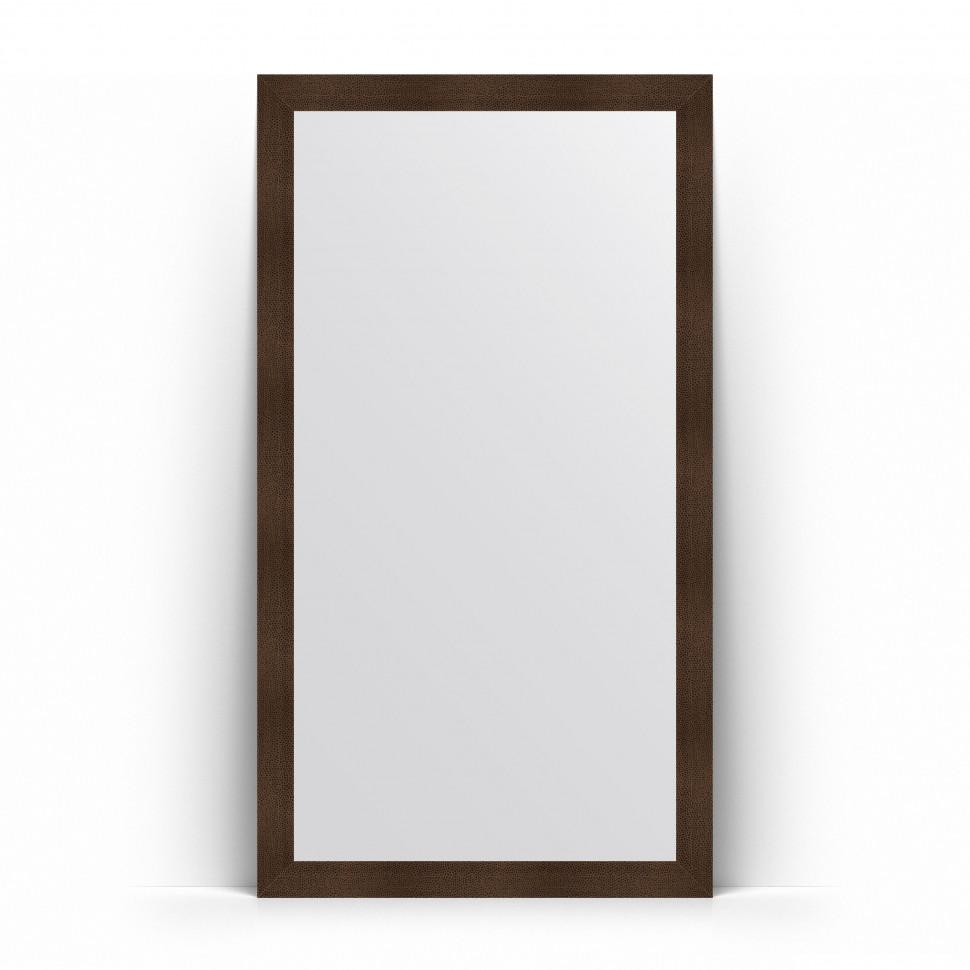 Фото - Зеркало напольное 111х201 см бронзовая лава Evoform Definite Floor BY 6022 зеркало напольное 111х201 см чеканка золотая evoform definite floor by 6020