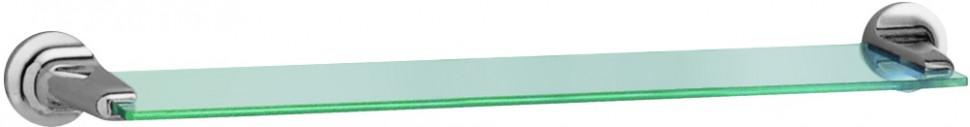 Полка стеклянная 58,2 см хром Nofer Hotel 16415.B полка стеклянная 50 см хром nofer line 16515 b