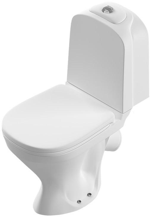 Фото - Унитаз-компакт с сиденьем термопласт Sanita Luxe Classic SL900101 унитаз компакт sanita luxe best lux 2ой смыв с сиденьем sl900302 d