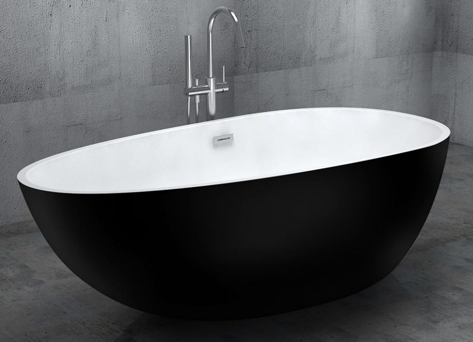 Купить со скидкой Акриловая ванна 170х85 см Abber AB9211B