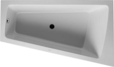 Акриловая ванна 170х100 см R Duravit Paiova 700265000000000