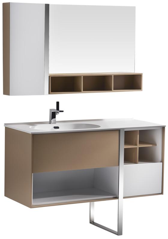 Комплект мебели бежевый/белый 120 см Orans 014NL12 фото
