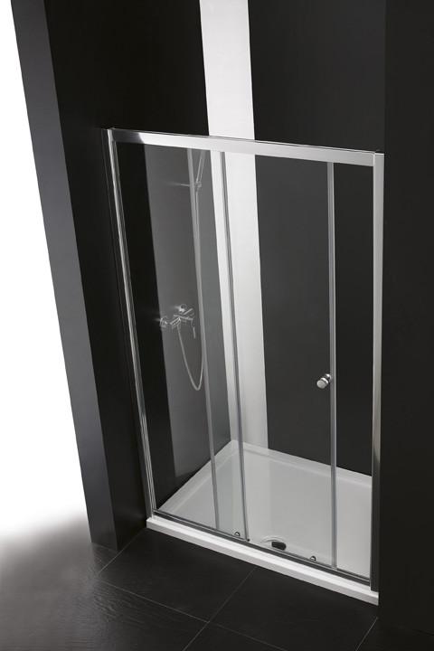 Душевая дверь раздвижная Cezares Anima 130 см прозрачное стекло ANIMA-W-BF-1-130-C-Cr