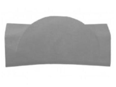 Подголовник BeHappy серый Ravak B61200000O подголовник ravak praktik белый b618000001