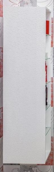 Пенал подвесной белый глянец L Sanflor Санфлор H0000000867