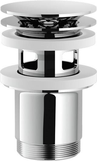 Фото - Донный клапан с переливом Nobili AV00110/10CR донный клапан с переливом raiber rlbt 58