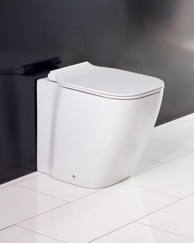 Унитаз приставной безободковый BelBagno Aldina BB114CB цена