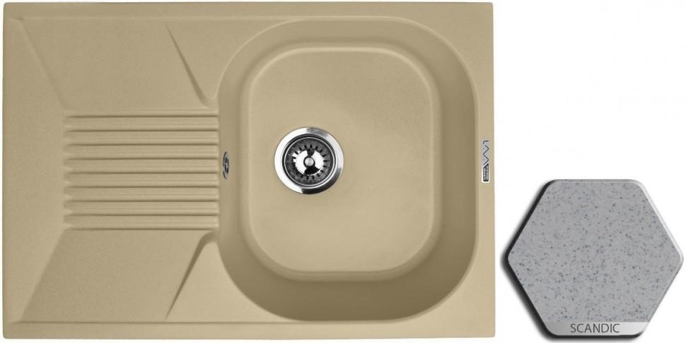 Кухонная мойка SCANDIC Lava L2.SCA цена и фото