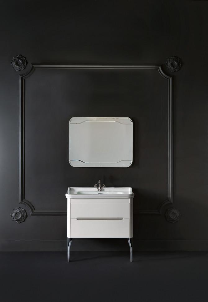 Тумба белый матовый 74 см Kerasan Waldorf 919330bimat