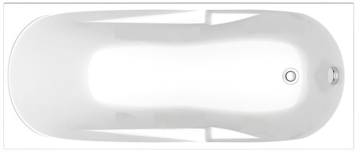 Акриловая ванна 160х70 см Bas Мальдива ZB00022 акриловая ванна roca genova 160х70