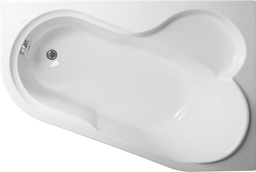 Акриловая ванна 147х100 см R Vagnerplast Selena VPBA141SEL3PE-04 акриловая ванна 160х105 см l vagnerplast selena vpba163sel3lx 04
