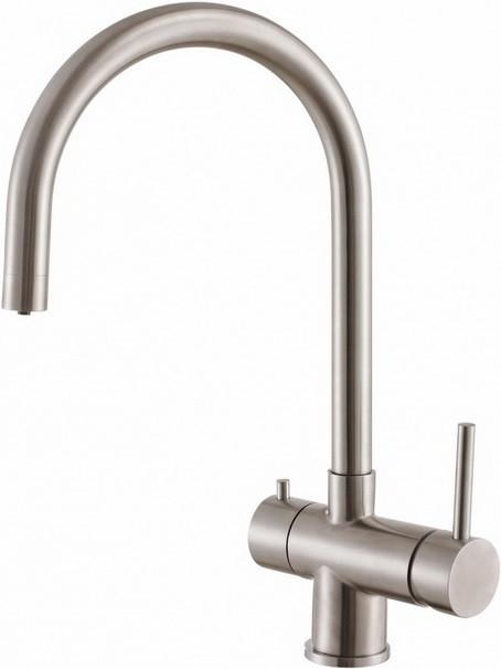 Смеситель для кухни с подключением к фильтру Zorg Inox SZR-7020 цена