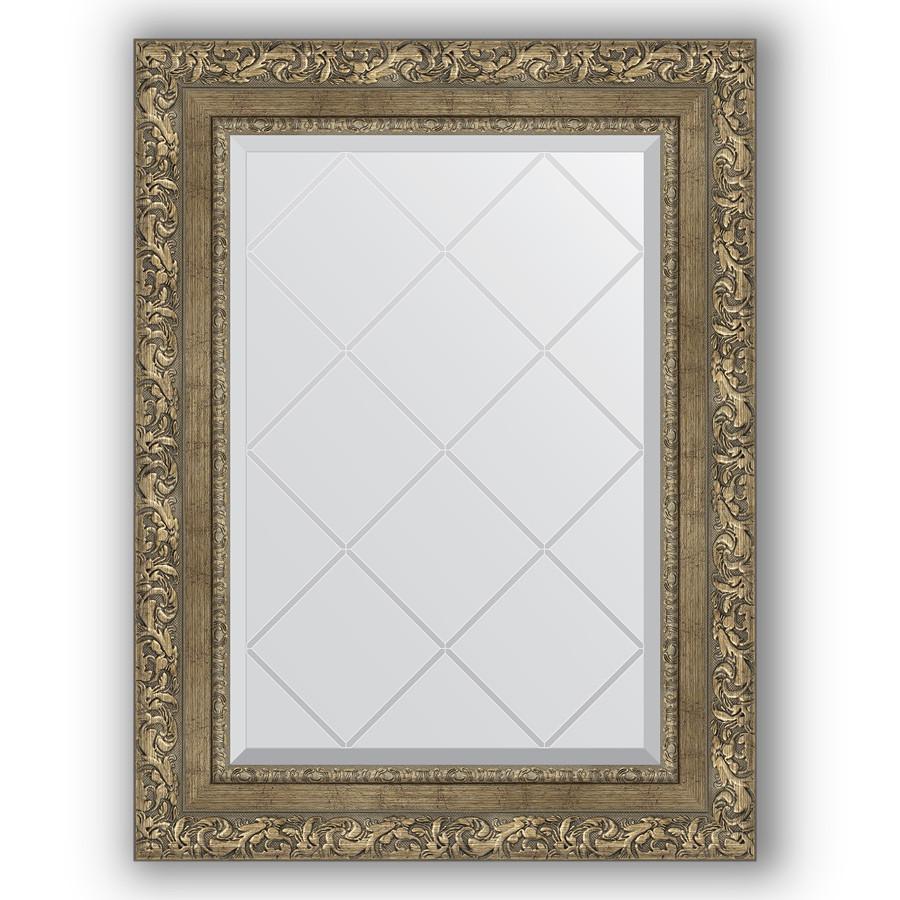 Зеркало 55х72 см виньетка античная латунь Evoform Exclusive-G BY 4016 зеркало evoform exclusive g floor 200х80 виньетка античная латунь