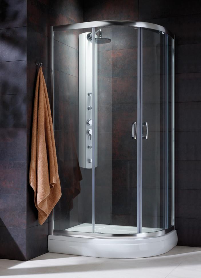 цена на Душевой уголок Radaway Premium Plus E 100×80 30491-01-01N прозрачное