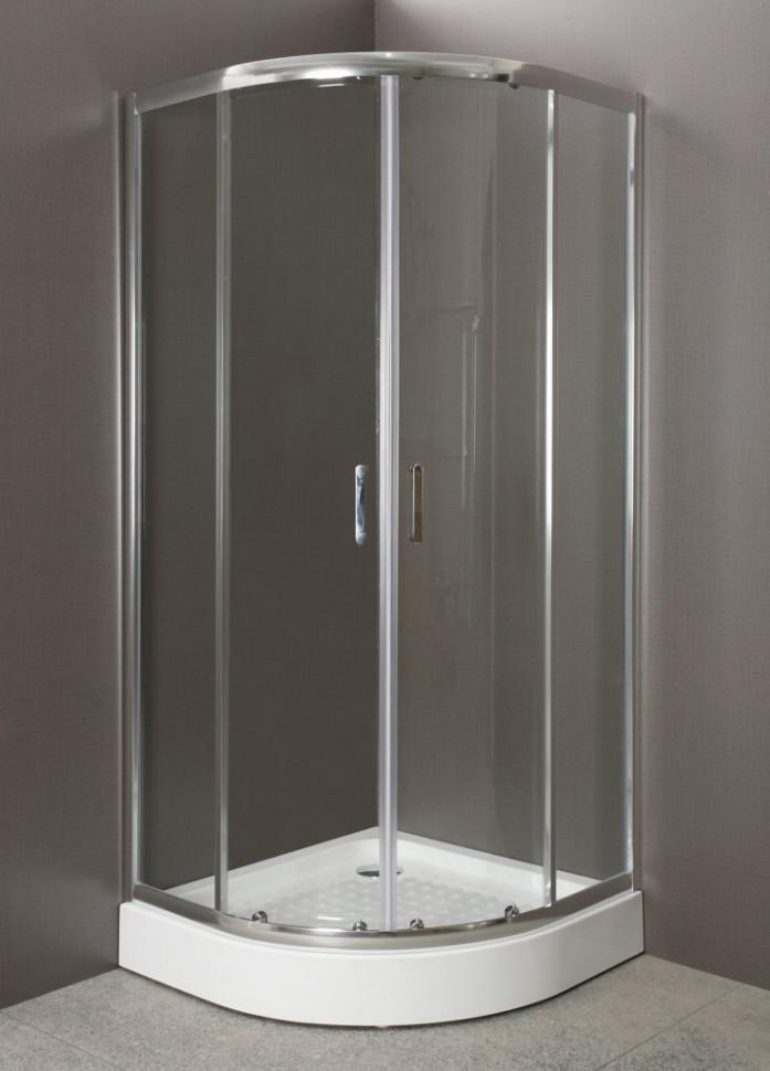 Душевой уголок BelBagno Uno 95х95 см прозрачное стекло UNO-R-2-95-C-Cr душевой уголок belbagno 80х80см uno r 2 80 p cr