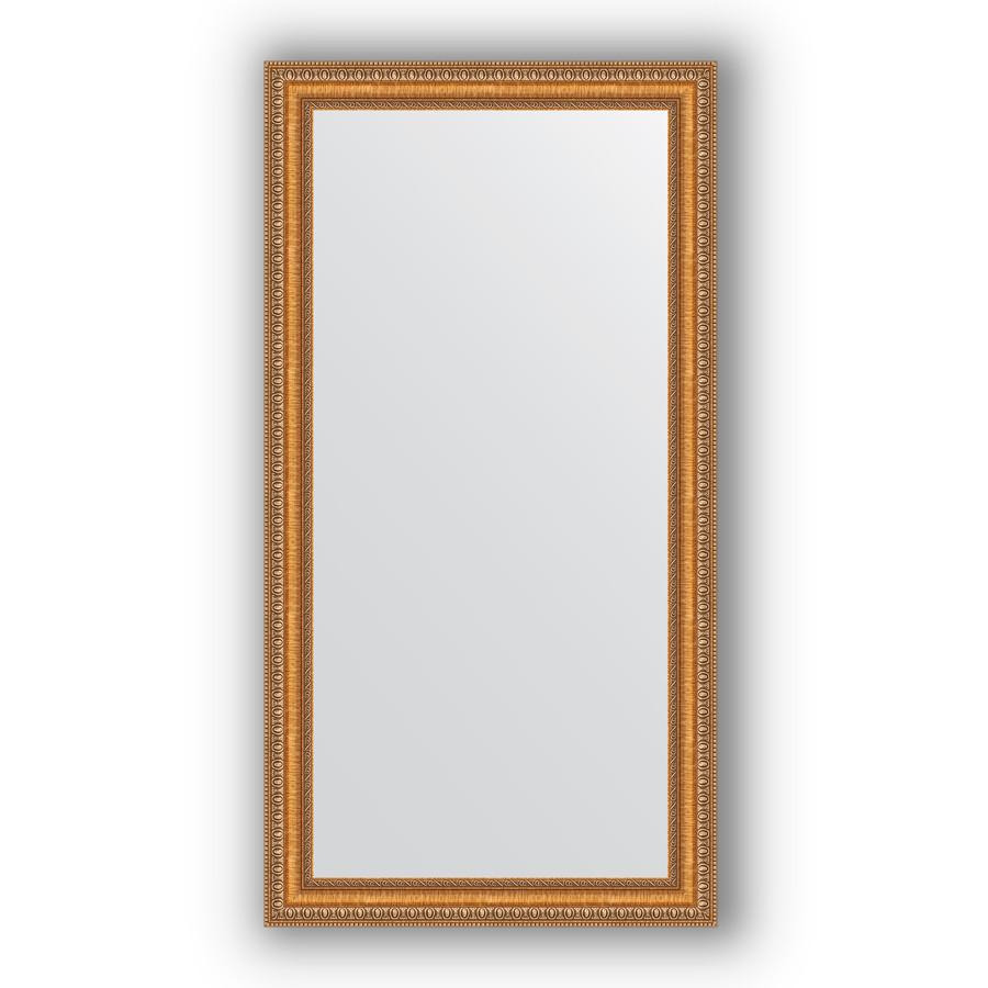 Зеркало 55х105 см золотые бусы на бронзе Evoform Definite BY 3074 зеркало evoform definite 155х75 золотые бусы на бронзе