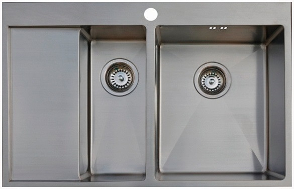 Кухонная мойка Seaman Eco Marino SMB-7851DLS.A кухонная мойка seaman eco marino smb 6351prs b