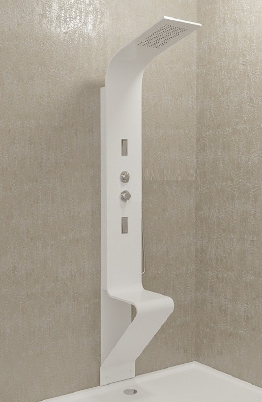 Гидpомассажная термостатическая панель Kolpa San Zonda Comfort 3FT Graphite - 9070