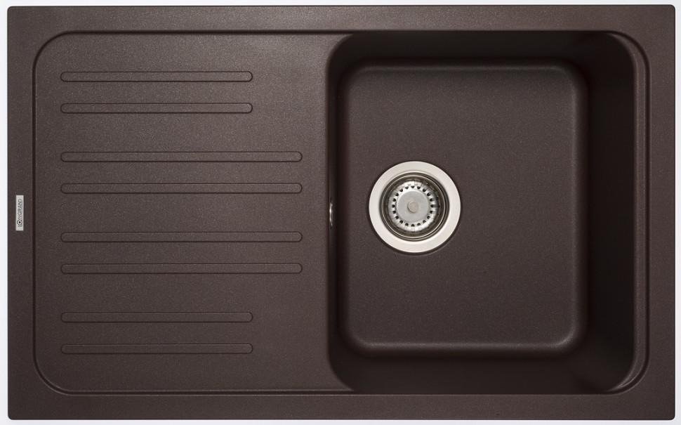 Кухонная мойка марон Longran Classic CLS740.460 - 93