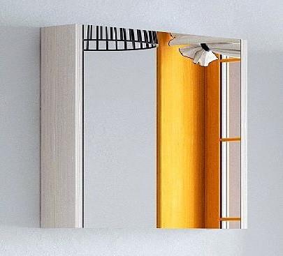 Зеркальный шкаф 75х67 см лайн Corozo Верона SD-00000287