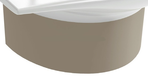 Jacob Delafon Stillness E75628-CHM Полупьедестал для раковины Е1300 (шампань) раковины для ванной jacob delafon