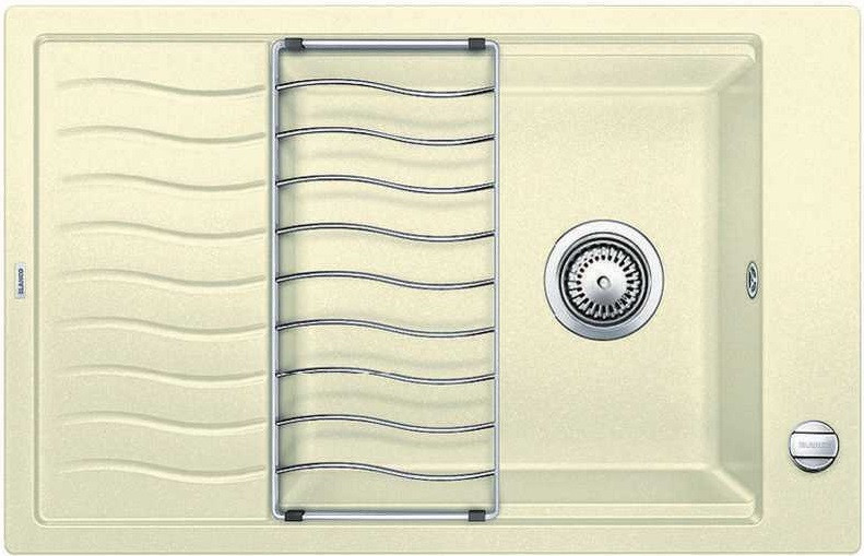 Кухонная мойка Blanco Elon XL 6 S-F жасмин 519514 кухонная мойка blanco elon xl 6 s антрацит