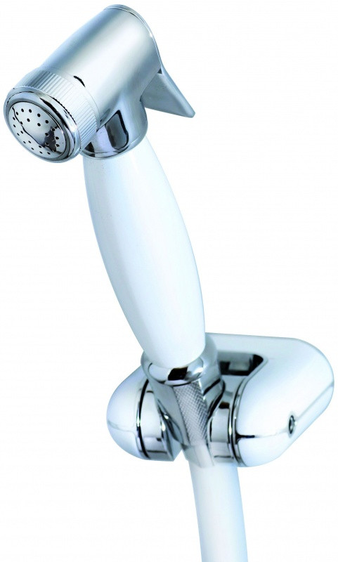 цена на KAISER SH-345WHITE Гигиенический набор металл, белый