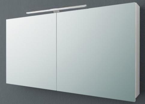 Зеркальный шкаф 120х62 см белый матовый Kolpa San Jolie TOJ 120 WH.