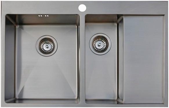 Кухонная мойка Seaman Eco Marino SMB-7851DRS.A кухонная мойка seaman eco marino smb 6351prs b