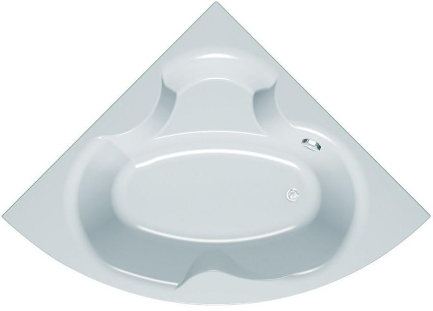 Акриловая ванна 150х150 см Kolpa San Alba Quat акриловая ванна kolpa san voice quat 150x95 r air