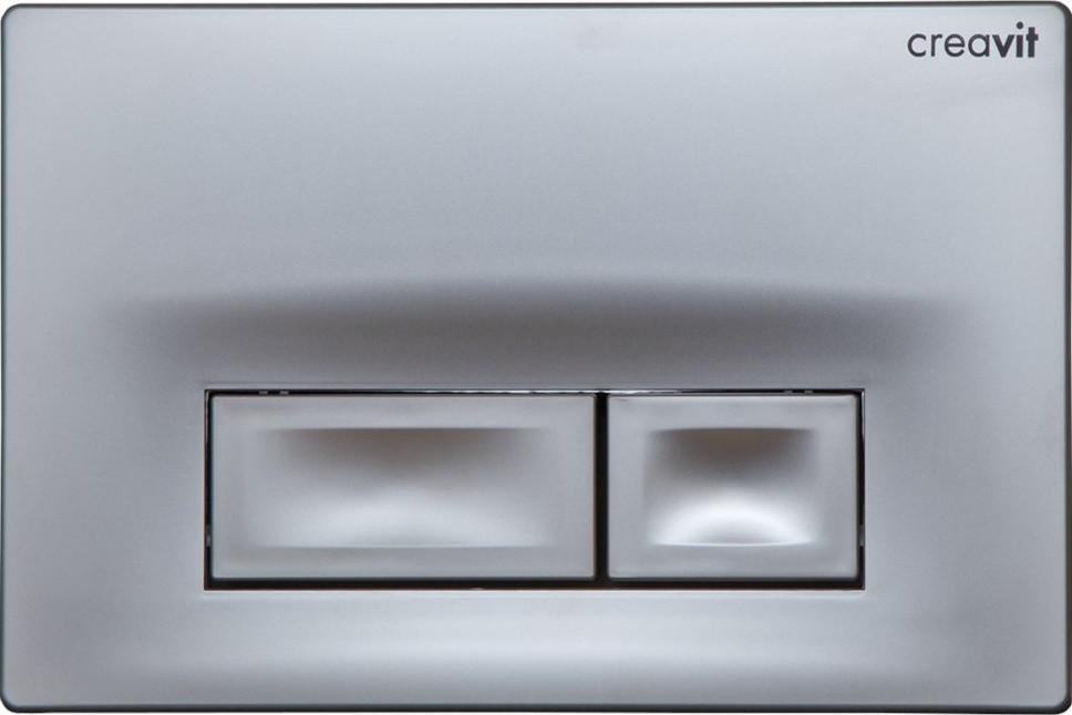 Смывная клавиша серый матовый Creavit Ore GP300200 фото