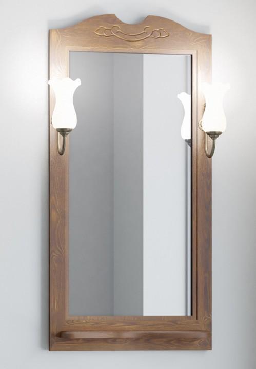 Зеркало 51х103,5 см орех антикварный Opadiris Тибет TIBET50ZP46