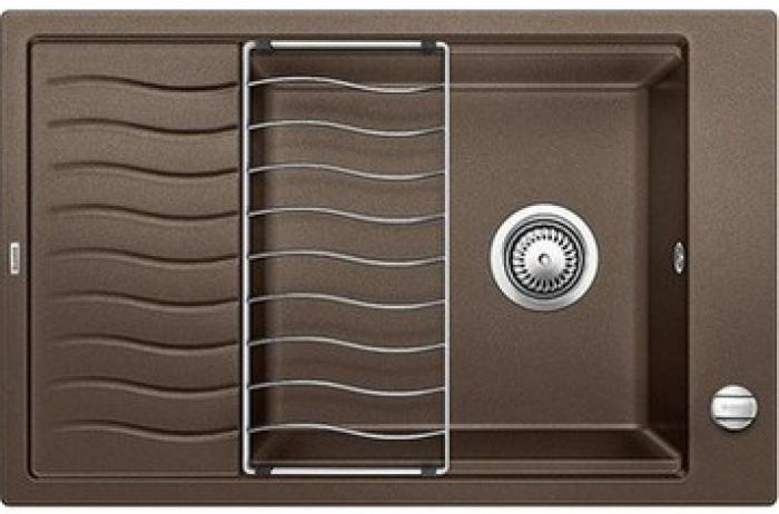 Кухонная мойка Blanco Elon XL 6 S-F кофе 519517 кухонная мойка blanco elon xl 6 s антрацит