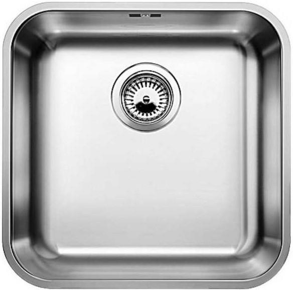 Фото - Кухонная мойка Blanco Supra 400-U полированная сталь 518202 кухонная мойка blanco supra 450 u 518203