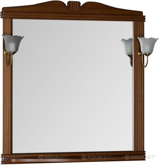 Зеркало 92,9х99,2 см орех Aquanet Николь 00180518