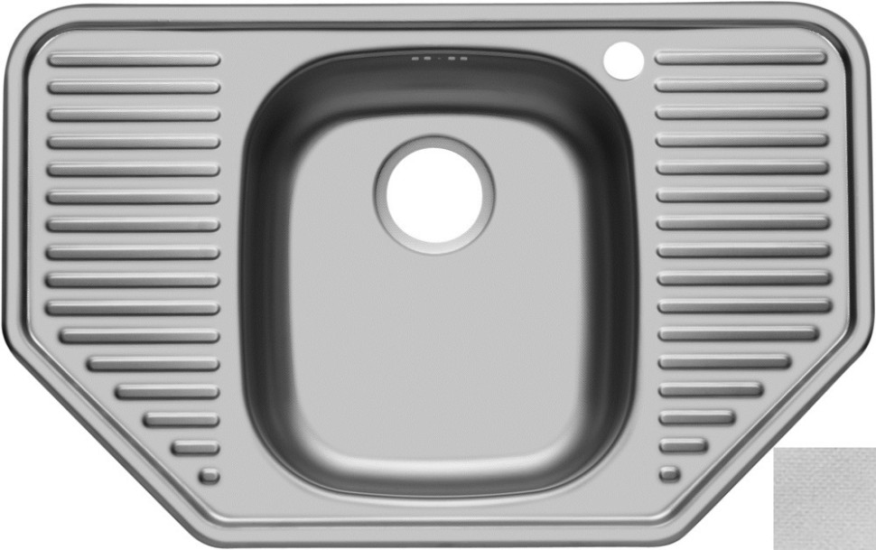 Кухонная мойка декоративная сталь Ukinox Комфорт COL777.488 -GT8K 2C ukinox fal510 gt8k 0c