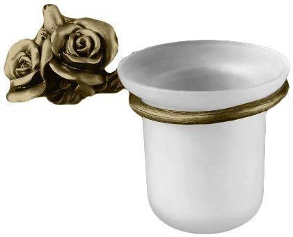 Ершик для унитаза бронза Art&Max Rose AM-0911-B