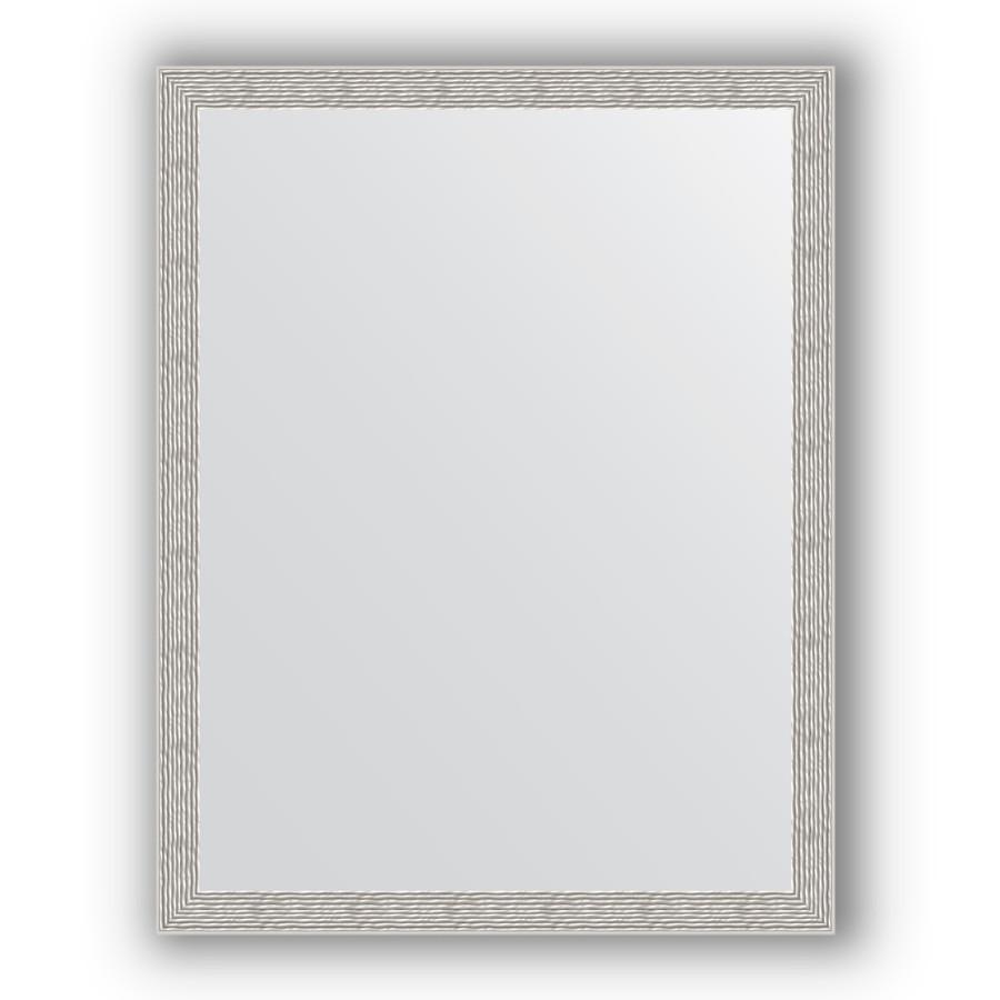 Зеркало 71х91 см волна алюминий Evoform Definite BY 3262 зеркало evoform definite 74х54 алюминий