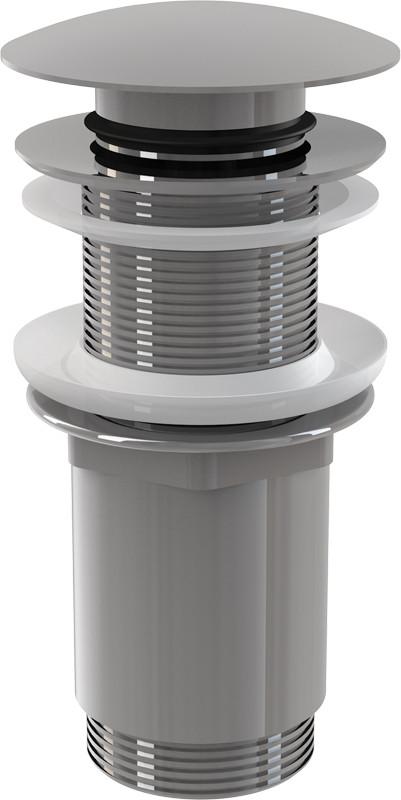 Донный клапан без перелива ClickClack AlcaPlast A395 доннный клапан alcaplast для раковины без перелива a396