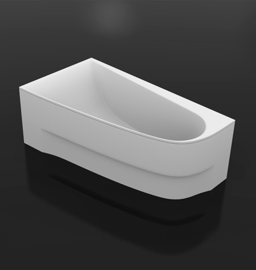 Фото - Акриловая ванна 150х90 см левая Vayer Boomerang 150.090.045.1-2.1.0.0 L акриловая ванна vayer trinity l 160x120 левая гл000008156