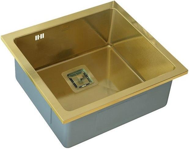 Кухонная мойка Zorg Inox PVD SZR-44 BRONZE цена и фото
