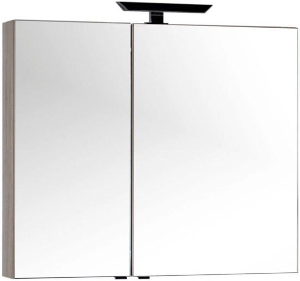 Зеркальный шкаф 100х85 см дуб кантри Aquanet Мадейра 00183067