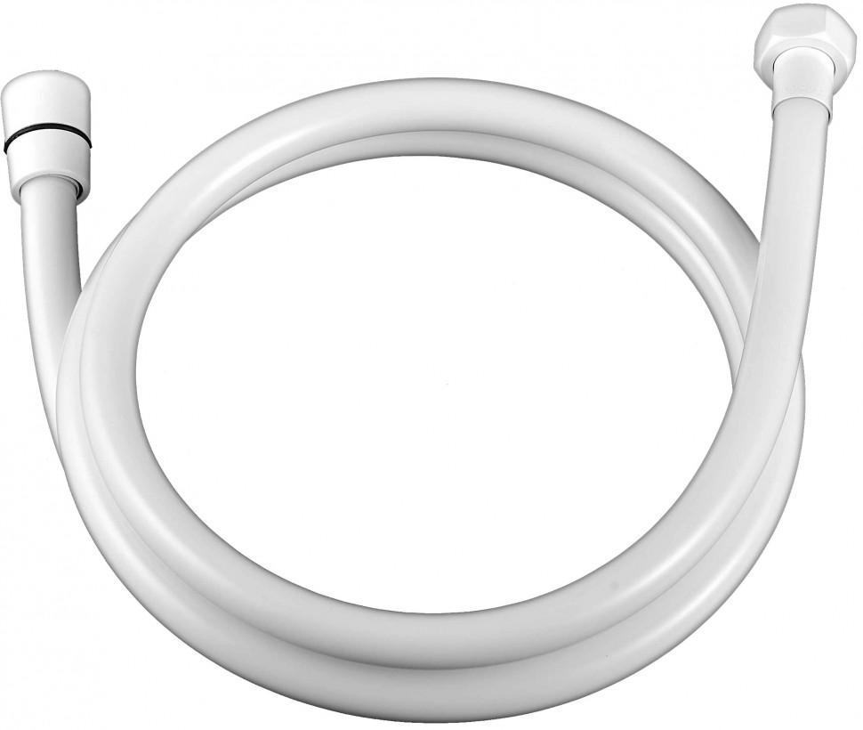 Душевой шланг армированный 150 см Elghansa SH012-WhitePlus