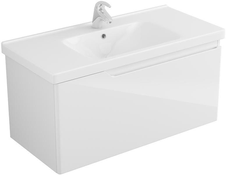 Тумба белый глянец 96,6 см Alvaro Banos Armonia 8404.0600