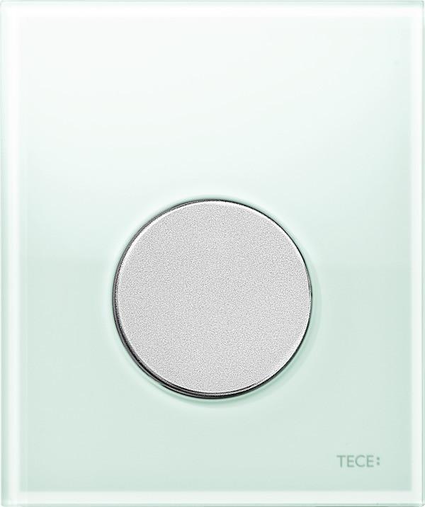 Смывная клавиша для писсуара TECE TECEloop мятный зеленый/матовый хром 9242652 смывная клавиша для писсуара tece teceloop мятный зеленый белый 9242651