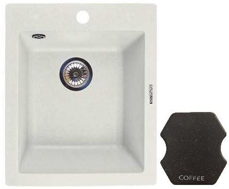 Кухонная мойка COFFEE Lava Q3.CFF