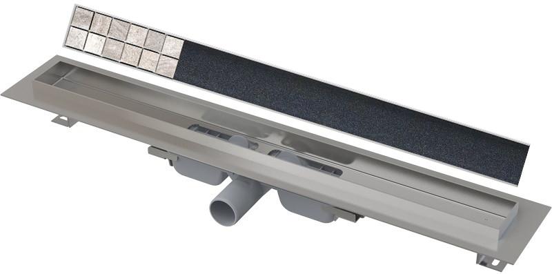 Душевой канал 844 мм под плитку AlcaPlast APZ106 Floor APZ106-850 + FLOOR-850
