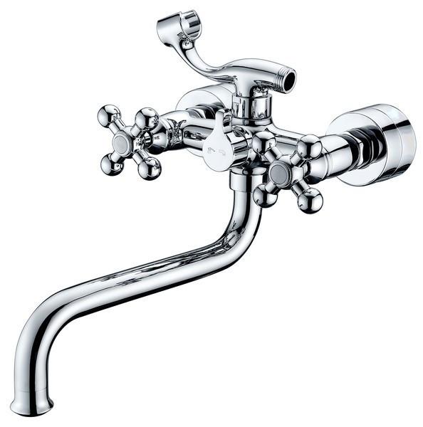 Смеситель для ванны Kaiser Carlson Lux 11255 смеситель для раковины kaiser carlson lux хром 11061