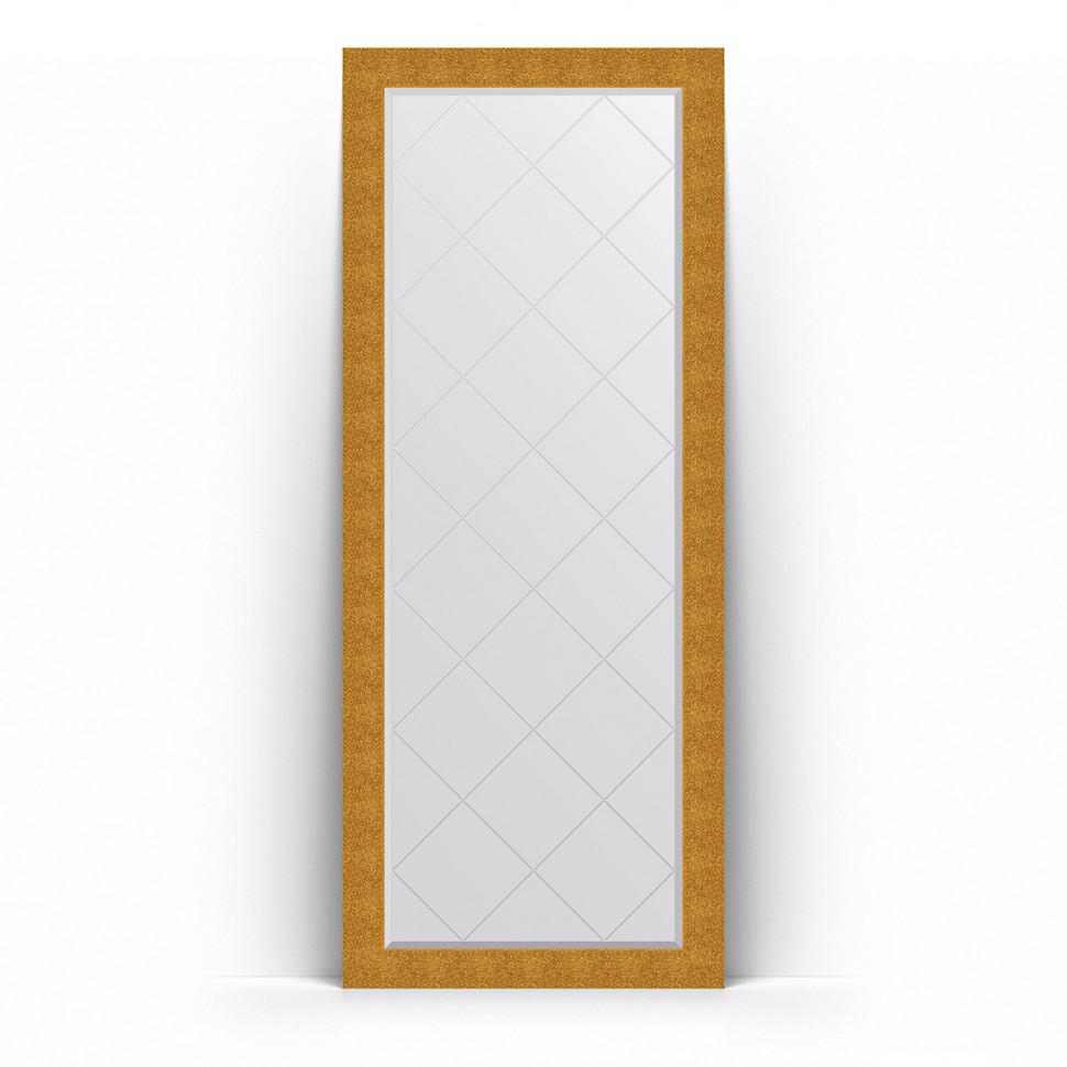 Фото - Зеркало напольное 81х201 см чеканка золотая Evoform Exclusive-G Floor BY 6382 зеркало напольное 81х201 см чеканка золотая evoform definite floor by 6008