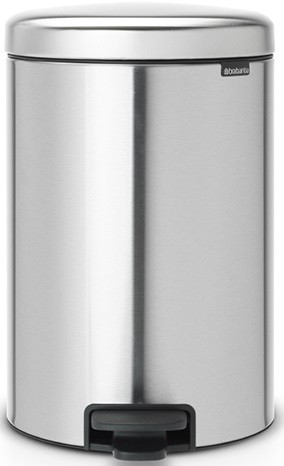 Мусорное ведро 20л с защитой от отпечатков пальцев Brabantia NewIcon 111907 мусорное ведро 20л brabantia newicon 114045